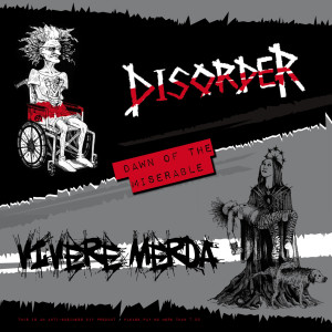 cover split Disorder - Vivere Merda